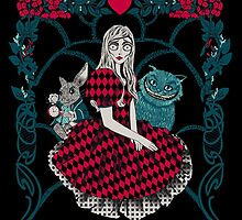 Alice Wood poster by EdWoody