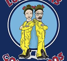 Breaking bad Pollos hermanos poster by EdWoody