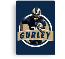 Todd Gurley - St Louis Rams Canvas Print