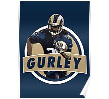Todd Gurley - St Louis Rams Poster
