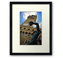 Details from Firenze Framed Print