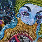 blue haired gypsy by evon ski