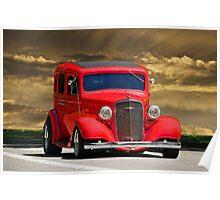 1935 Chevrolet Sedan Poster