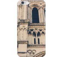 Notre Dame Closeup iPhone Case/Skin