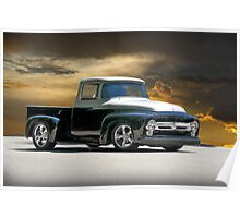 1956 Ford Custom F100 Poster