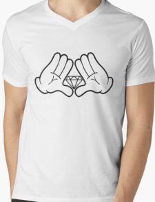 Diamond Dynasty Swag Mens V-Neck T-Shirt