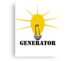 Idea Generator Canvas Print