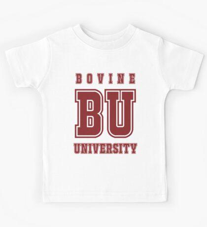 Bovine University - Simpsons Kids Tee
