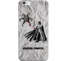 Darth Vader Pinata  iPhone Case/Skin