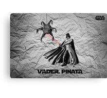 Darth Vader Pinata  Canvas Print