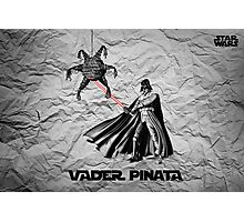 Darth Vader Pinata  Photographic Print