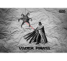 Darth Vader Pinata  Photographic Print