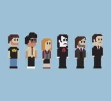 8-Bit IT Crowd by AlCreed