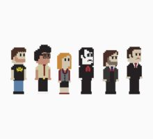 8-Bit IT Crowd Kids Clothes
