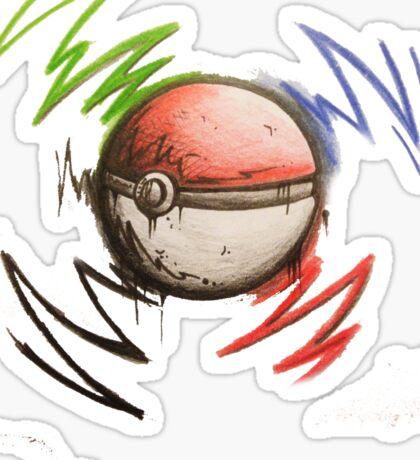 Pokeball! Sticker