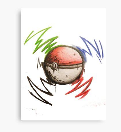 Pokeball! Canvas Print