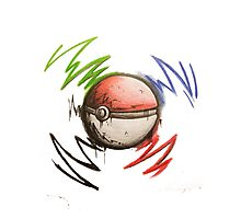 Pokeball! Photographic Print