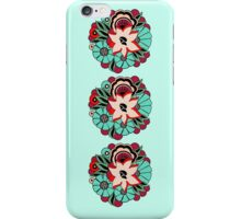 30s DECO BOUQUET: 1940s LOUNGE iPhone Case/Skin
