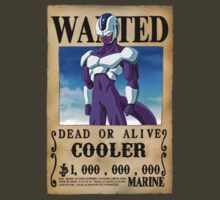 Wanted Poster Cooler by BadrHoussni