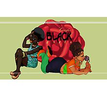 Carefree Black Girls Photographic Print