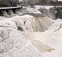 Rideau Falls, Ottawa, ON - Canada March 5/2014 by Shulie1