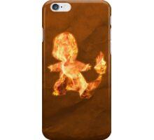 Charmander Silhouette iPhone Case/Skin