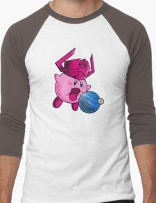 Inhaler of Worlds Men's Baseball ¾ T-Shirt