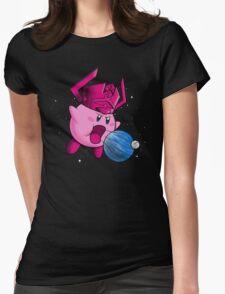 Inhaler of Worlds Womens Fitted T-Shirt