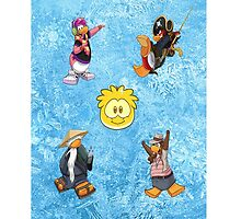 Club Penguin Party iPod Touch 4G by powerboxx