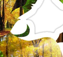 Leafeon Silhouette Sticker