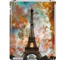The Eiffel Tower - Paris France Art By Sharon Cummings iPad Case/Skin