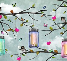 """Soul Purpose"" Mason Jar Party - Springtime by soaringanchor"