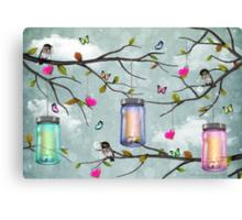 """Soul Purpose"" Mason Jar Party - Springtime Canvas Print"