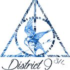 District 9 3/4 - Blue by Bocaci