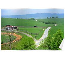 Virginia Countryside Poster