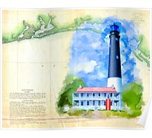 Historic Panhandle of Florida - Pensacola Lighthouse Poster