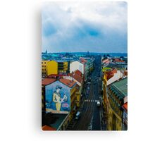 A city of 1000 spires Canvas Print