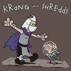 Krang and Shredds by worldcollider