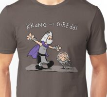 Krang and Shredds Unisex T-Shirt