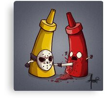 It's Only Ketchup Canvas Print
