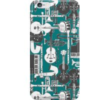 weave jazz teal iPhone Case/Skin