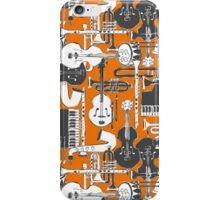 weave jazz orange iPhone Case/Skin