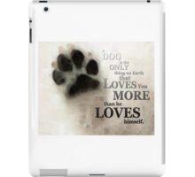 True Love - By Sharon Cummings Words by Billings iPad Case/Skin
