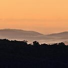 Pastel Sunrise - Hill End NSW Australia by Bev Woodman