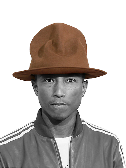 Pharrell Williams Hat by AntoniShady