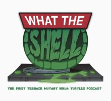 What the Shell Podcast Official T-Shirt by SuperMunkyboy