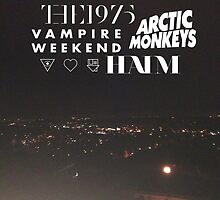 Bands Mash-Up by the1975