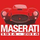 Maserati Centenary A6GCS (1953) by velocitygallery