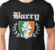 Barry Family Shamrock Crest (vintage distressed) Unisex T-Shirt