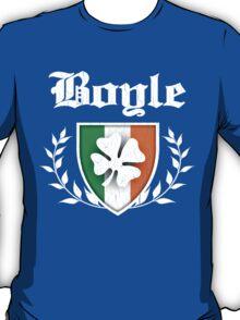 Boyle Family Shamrock Crest (vintage distressed) T-Shirt